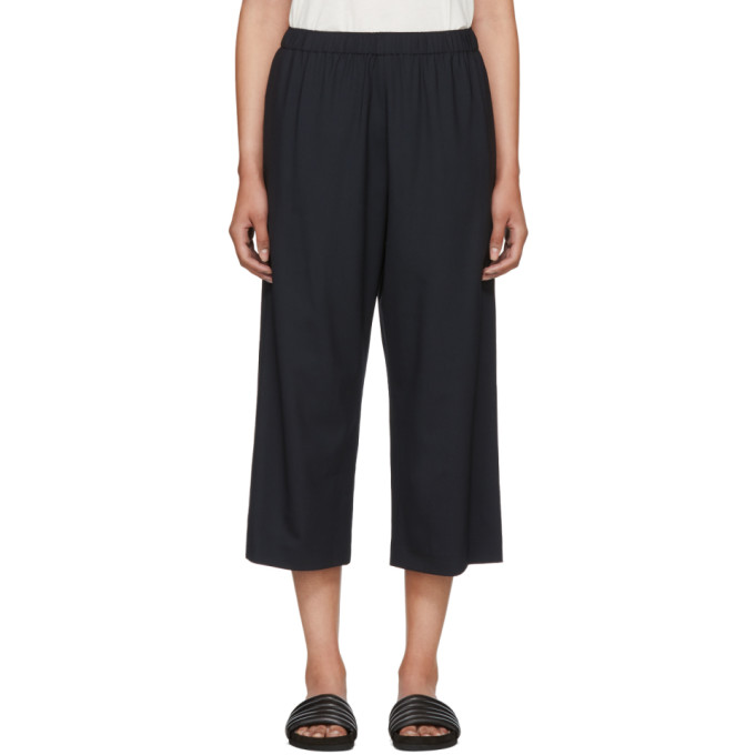 6397 female 6397 navy wideleg pullon trousers