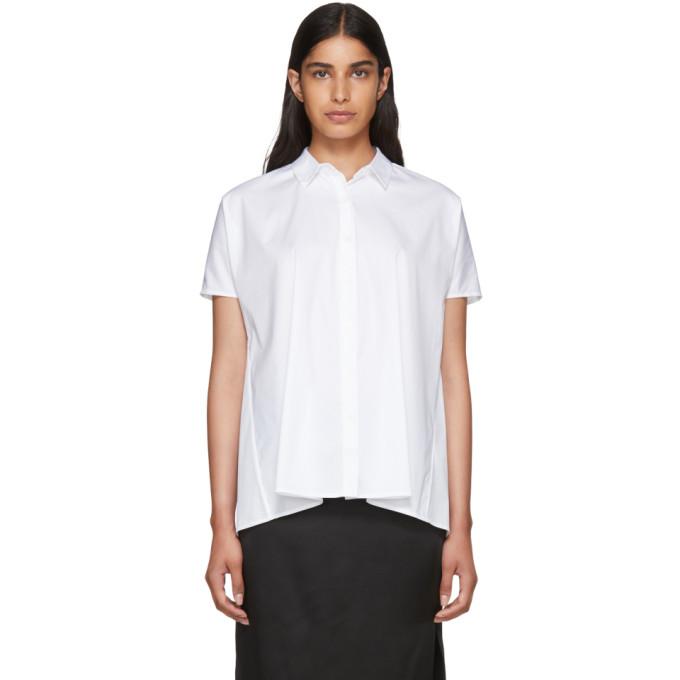 Image of 6397 White Trapeze Shirt
