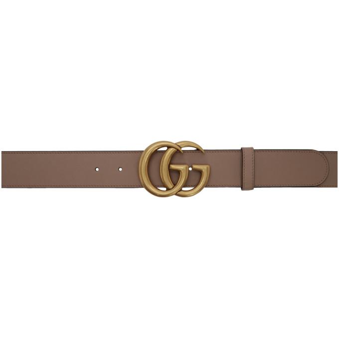 e5d1a25db1f Gucci Beige GG Toscano Belt