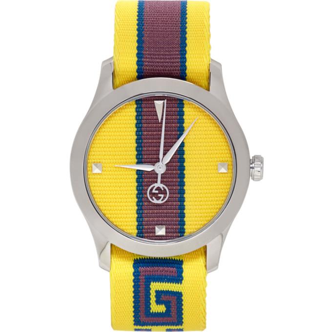 Gucci Yellow G Timeless Watch