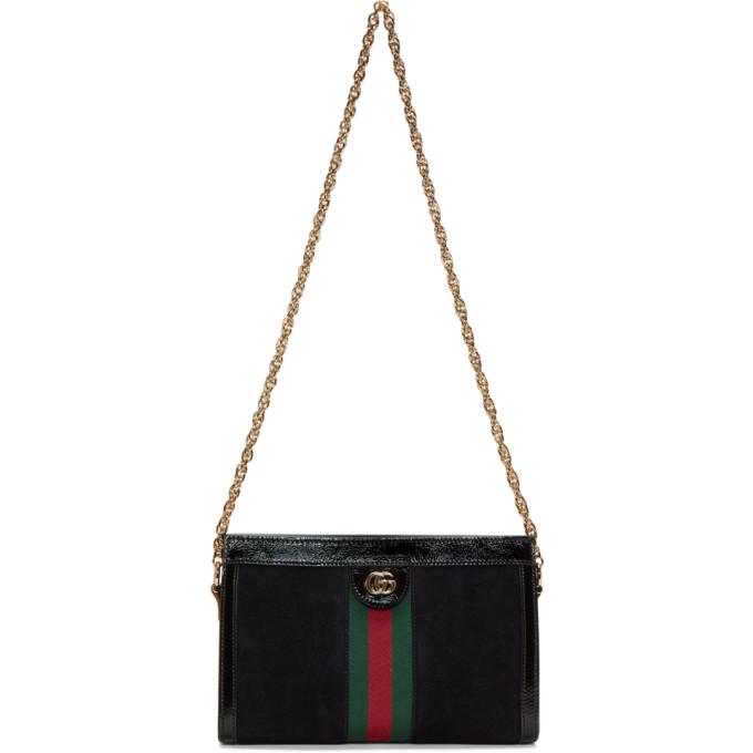 Gucci Black Small Ophidia Shoulder Bag