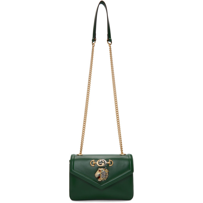 Gucci Green Small Rajah Bag