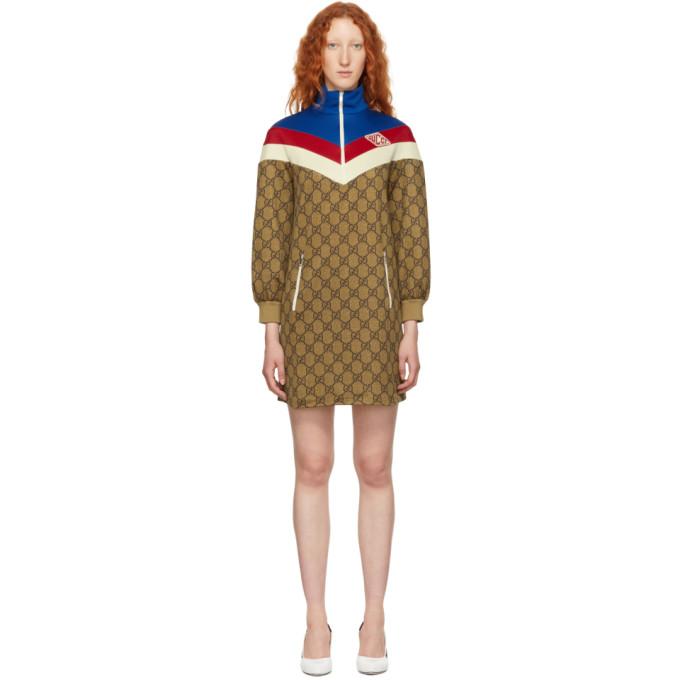 Gucci マルチカラー GG スプリーム ドレス