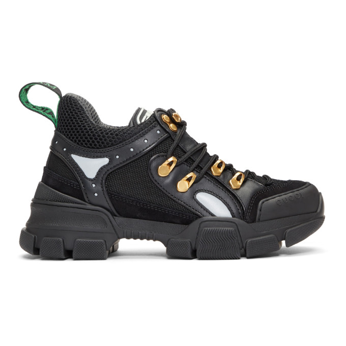 Gucci Black Flashtrek Chunky Sneakers
