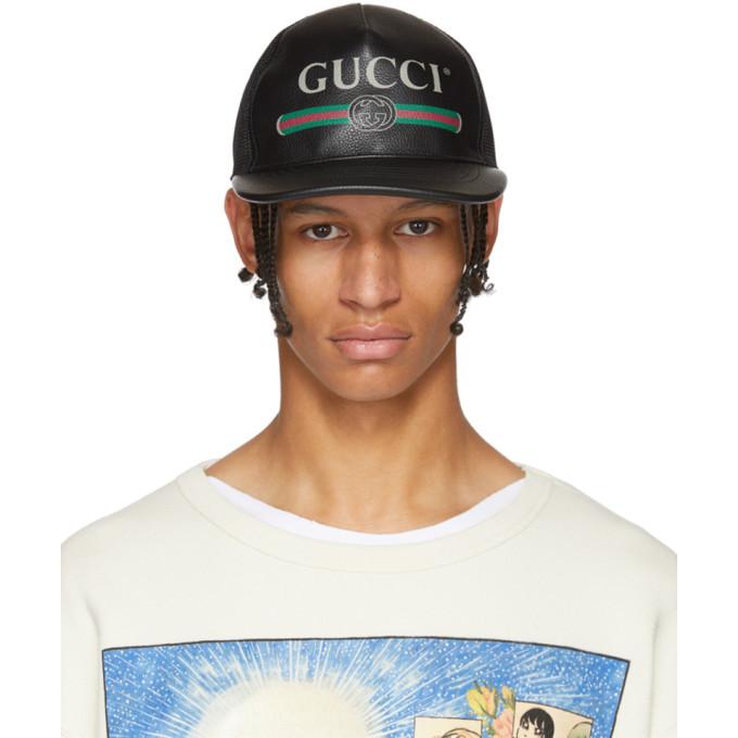 Gucci Casquette a logo noire