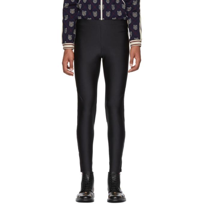 Gucci Black Logo Band Lounge Pants
