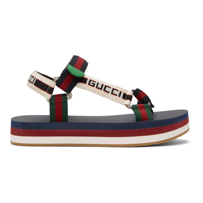 Gucci Multicolor Bedlam Sandals