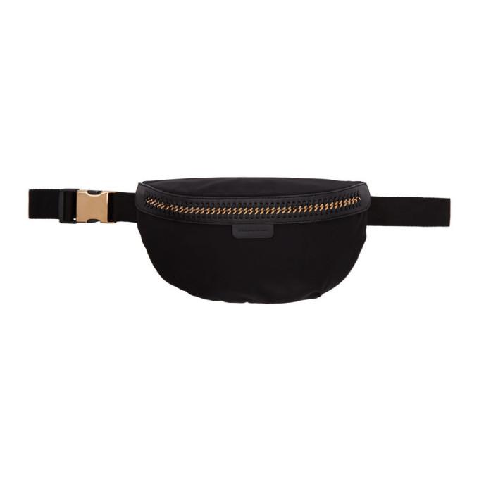 Stella McCartney Black Falabella Bum Bag