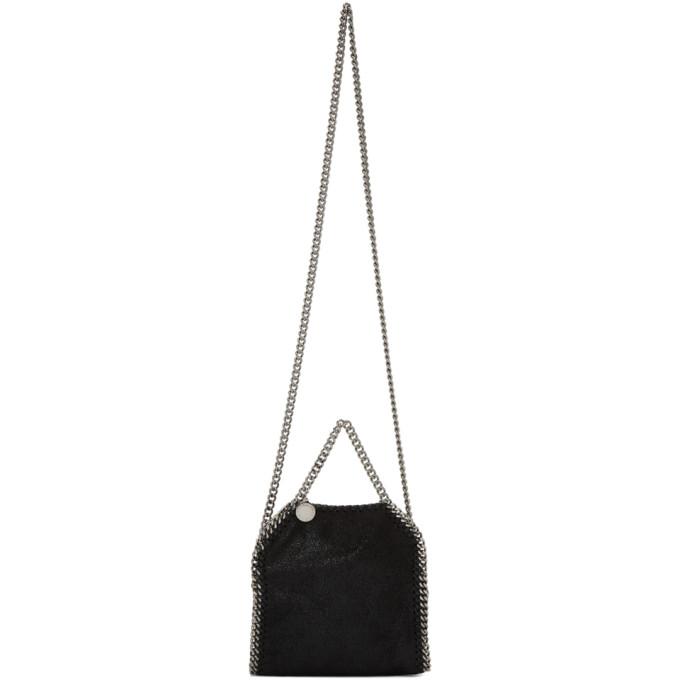 Stella McCartney Black & Silver Tiny Bella Falabella Bag