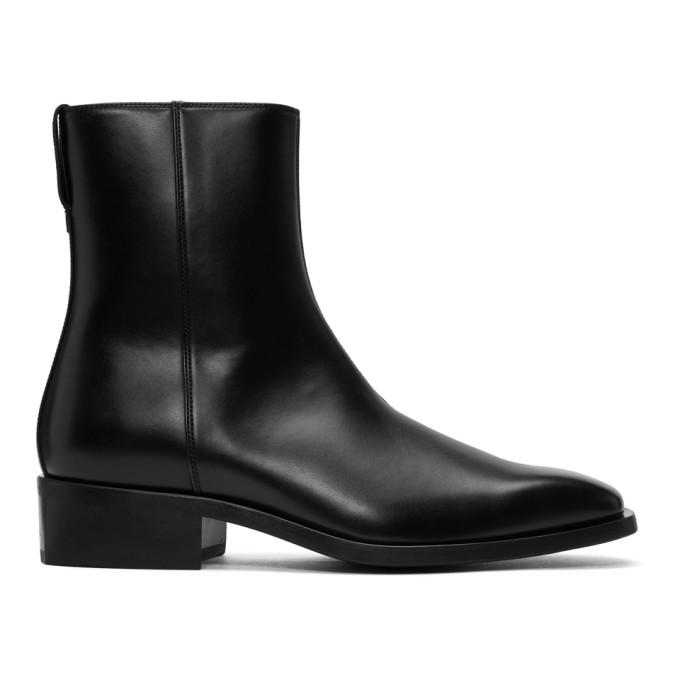 Stella McCartney Black Zippered Boots