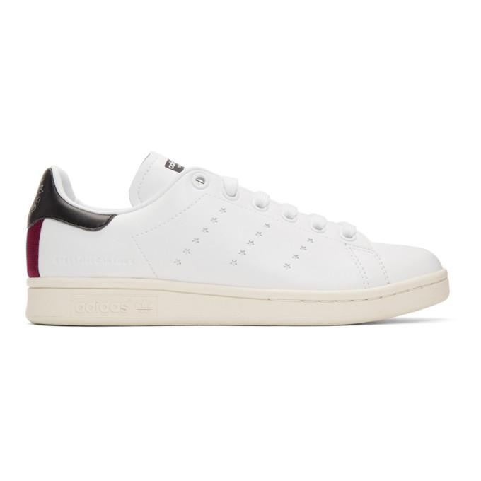 Stella McCartney White adidas Edition Stan Smith Sneakers