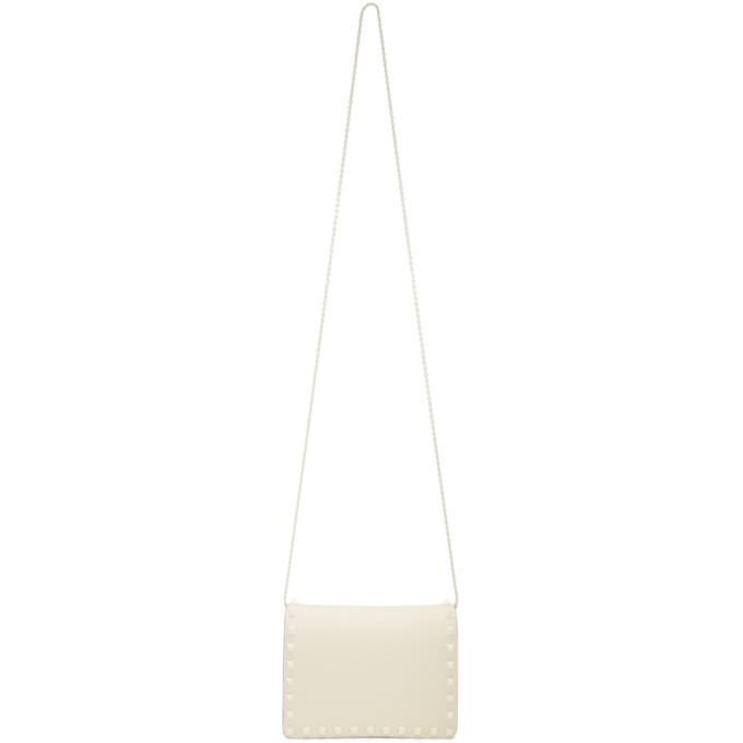 Valentino Ivory Valentino Garavani Mini Tonal Rockstud Bag