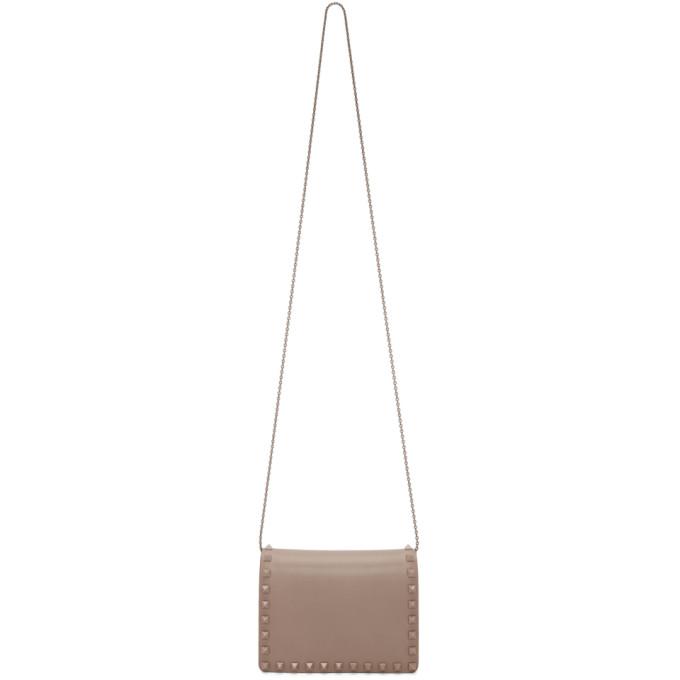 Valentino Pink Valentino Garavani Mini Tonal Rockstud Bag