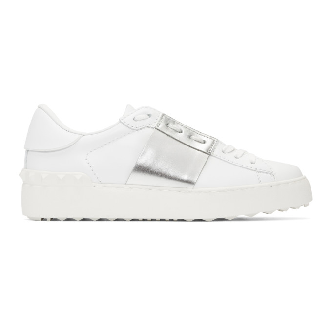Valentino White Valentino Garavani Open Sneakers
