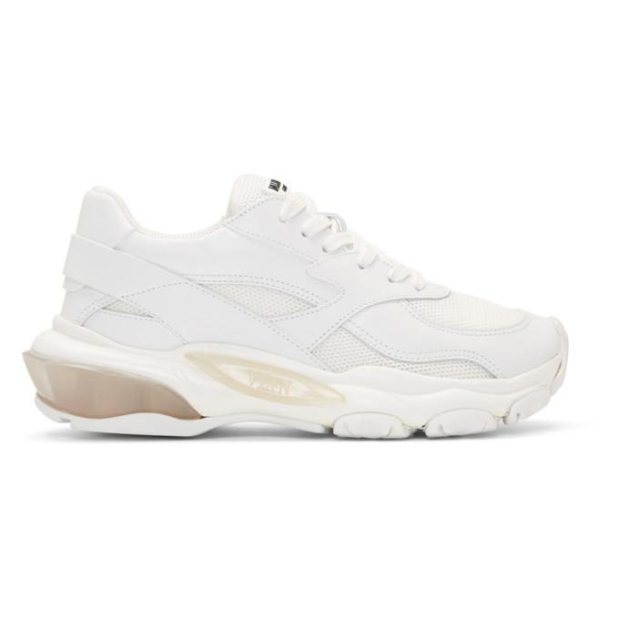 Valentino White Valentino Garavani Bounce Sneakers