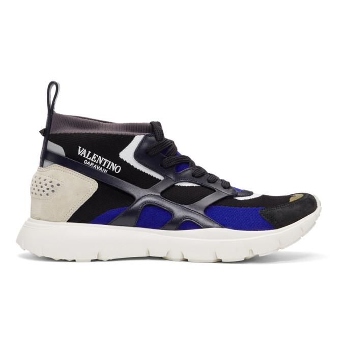 Valentino Multicolor Valentino Garavani Sound High-Top Sneakers