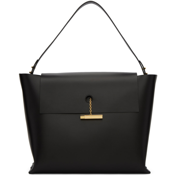 Sophie Hulme Black The Pinch Bag