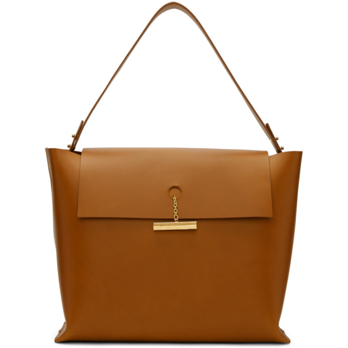 Sophie Hulme Tan The Pinch Bag