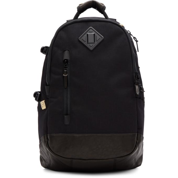 Logo Plaque Backpack in Black