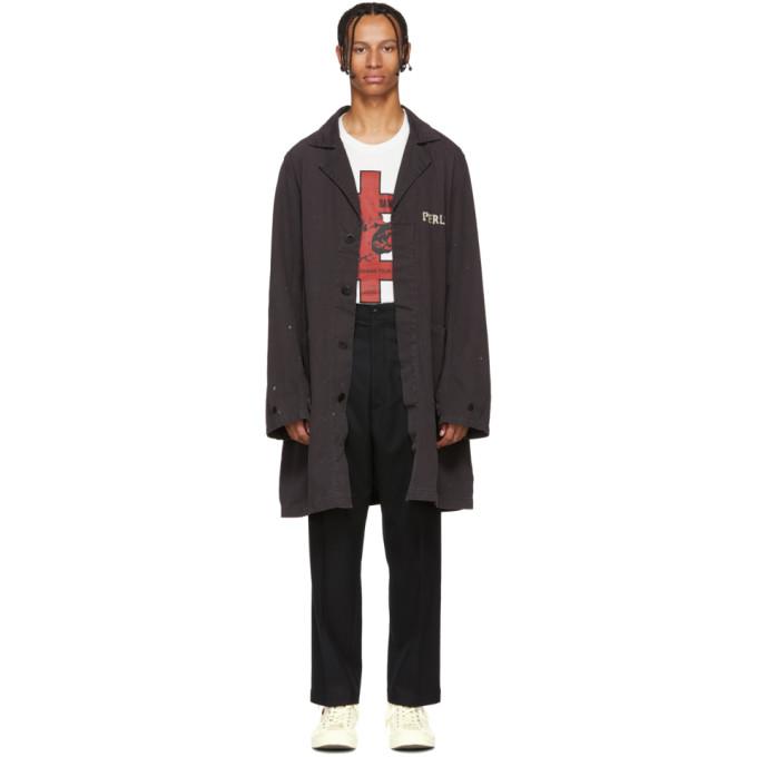 VISVIM Visvim Peerless Shop Coat In Black