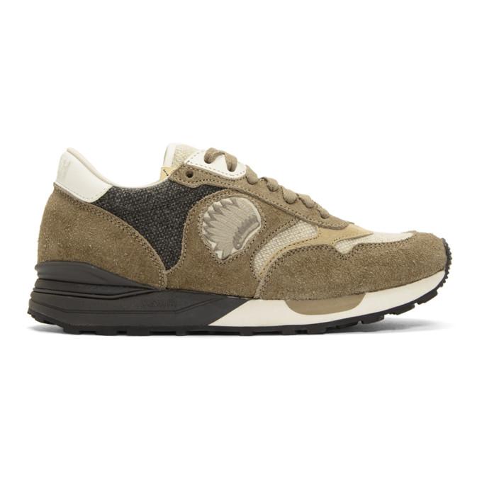 Visvim Brown Roland Jogger Sneakers