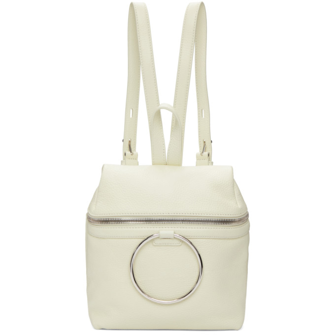 c46c707bb6c9 Kara SSENSE Exclusive White Small Ring Backpack