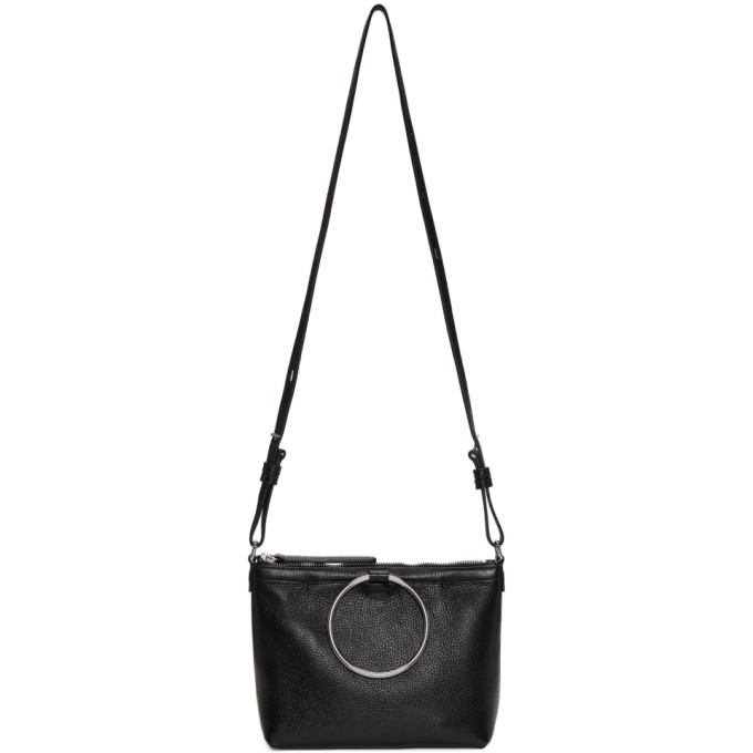 Image of Kara Black Ring Crossbody Bag