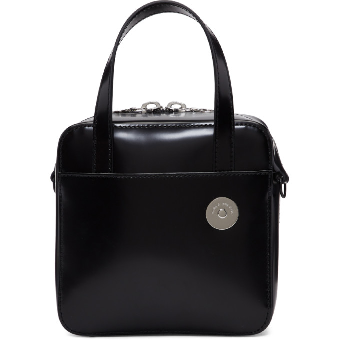 Image of Kara Black Small Brick Bag