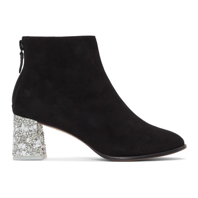 Image of Sophia Webster Black Stella Ankle Boots