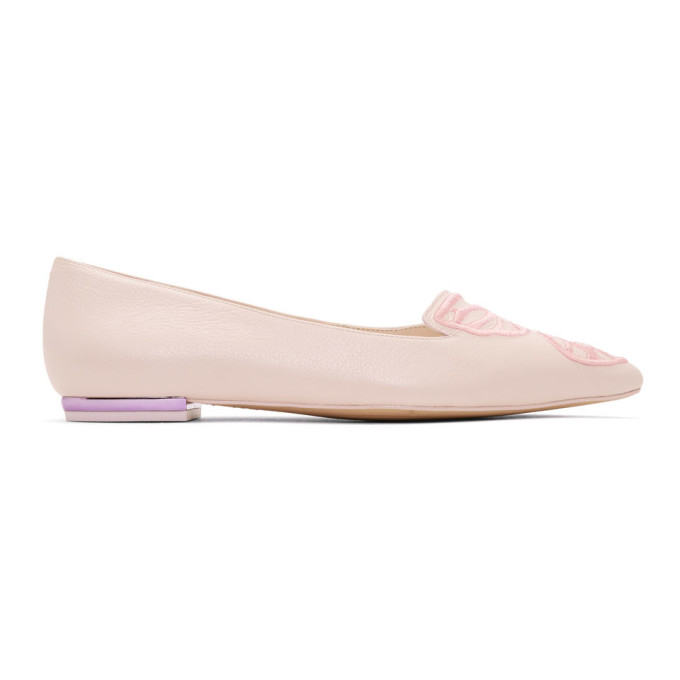 Sophia Webster Pink Bibi Ballerina Flats