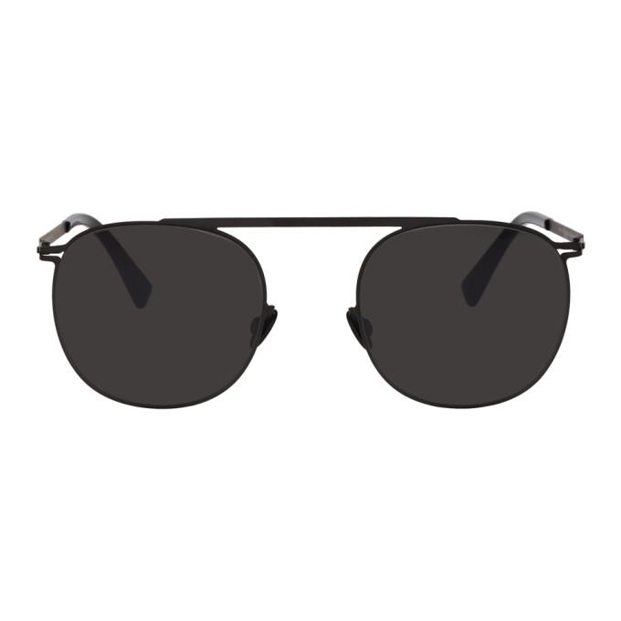 Image of Mykita Black Erling Sunglasses