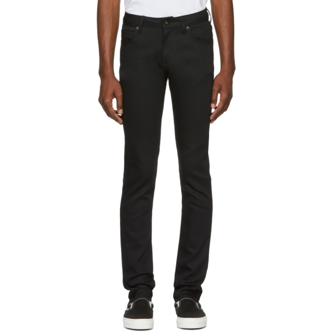 Image of Naked & Famous Denim Black Power Stretch Jeans