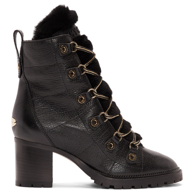 Jimmy Choo Black Hillary 65 Boots