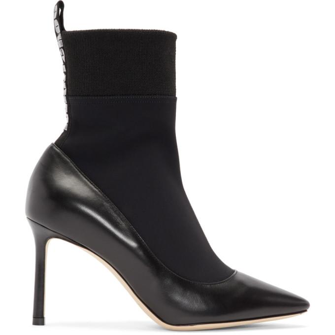 Jimmy Choo Black Brandon Boots