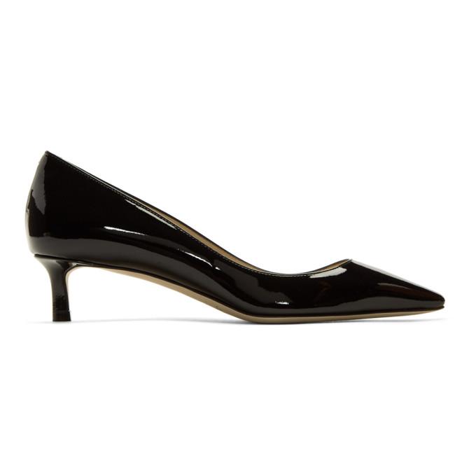 Jimmy Choo Black Patent Romy 40 Heels