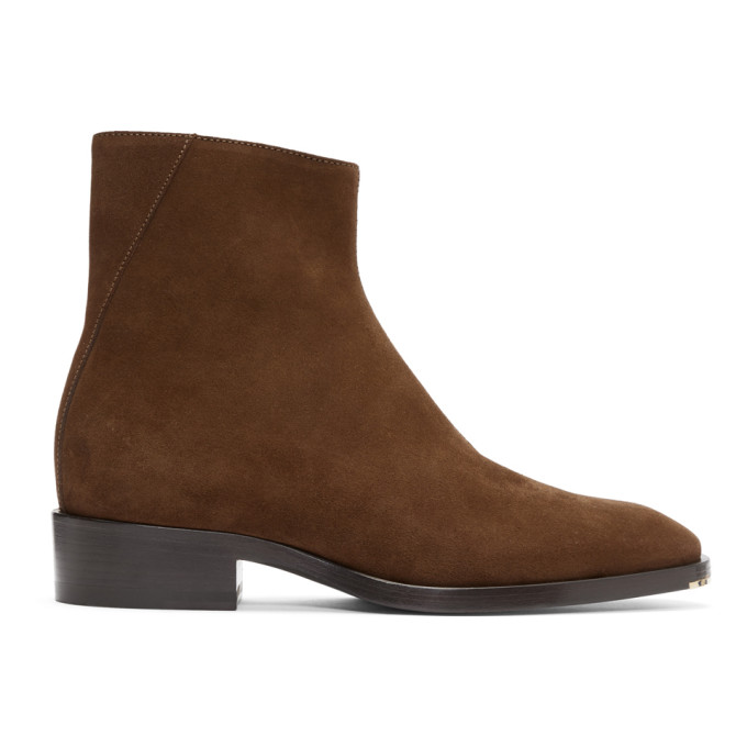 Jimmy Choo Brown Suede Lucas Boots