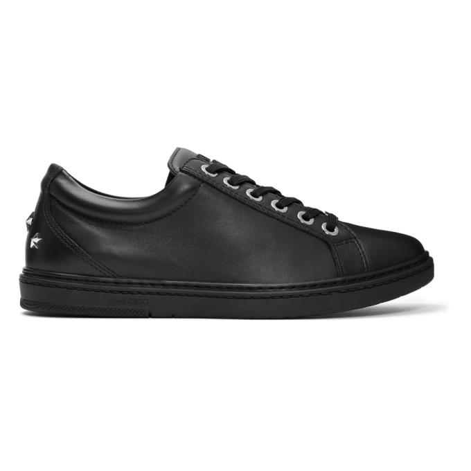 Jimmy Choo Black Cash Sneakers