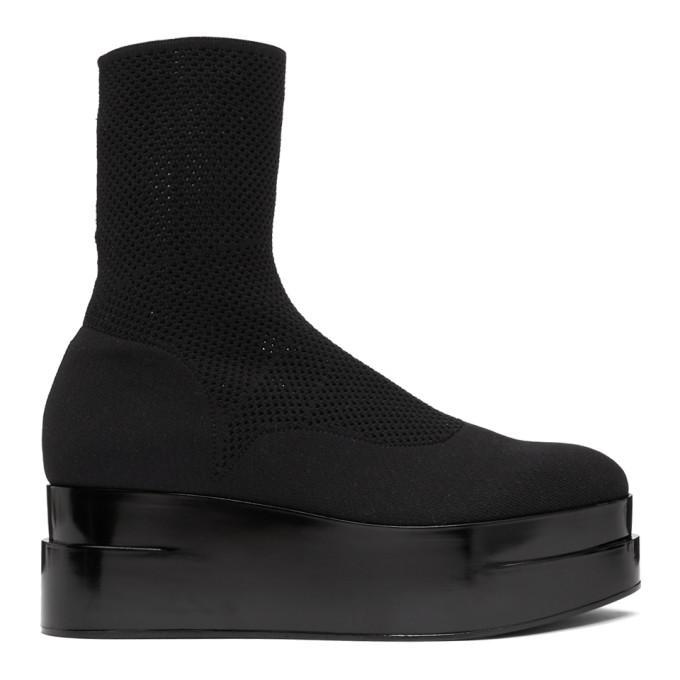 Clergerie Black Luise Platform Boots