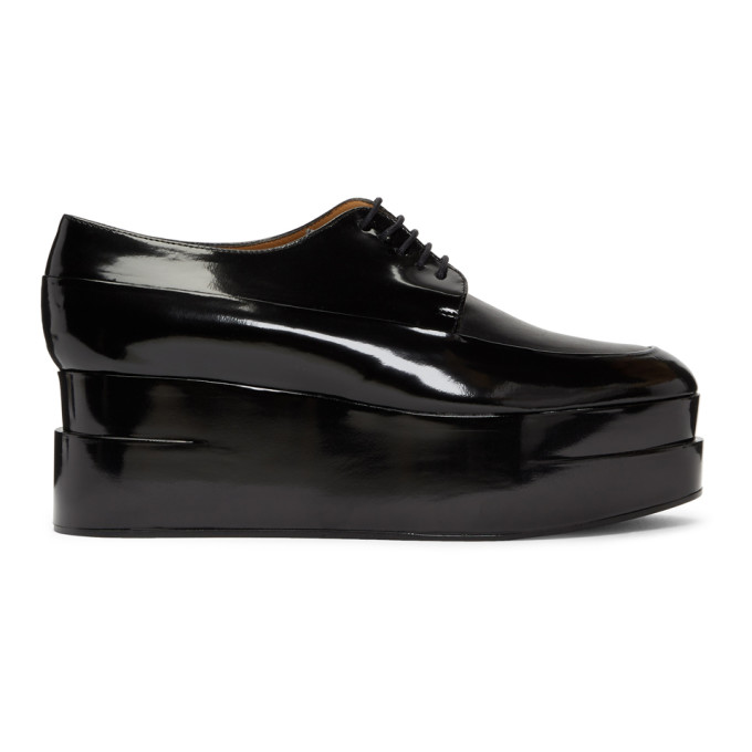 Clergerie Black Patent Lucie Oxfords