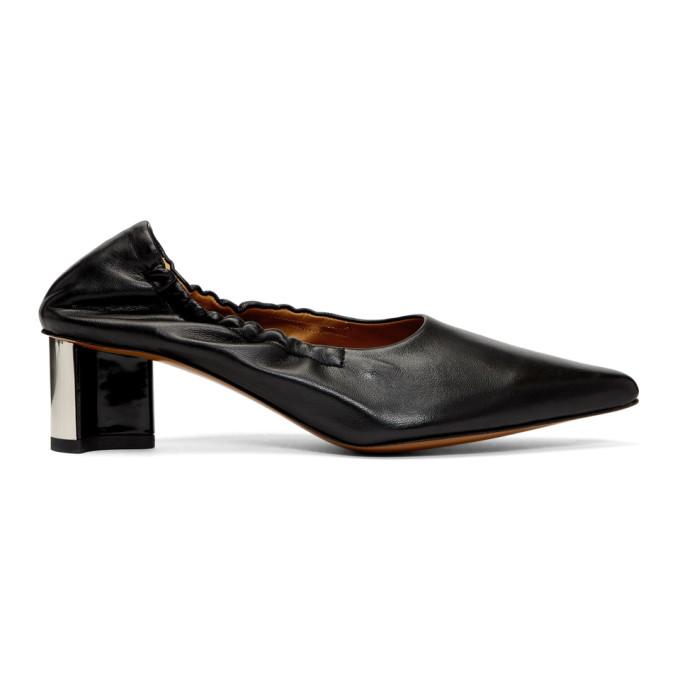 Clergerie Black Solal Heels