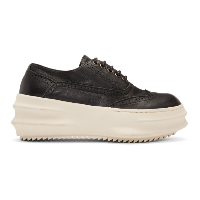 D.Gnak by Kang.D Baskets noires et blanches Curved Wingtip