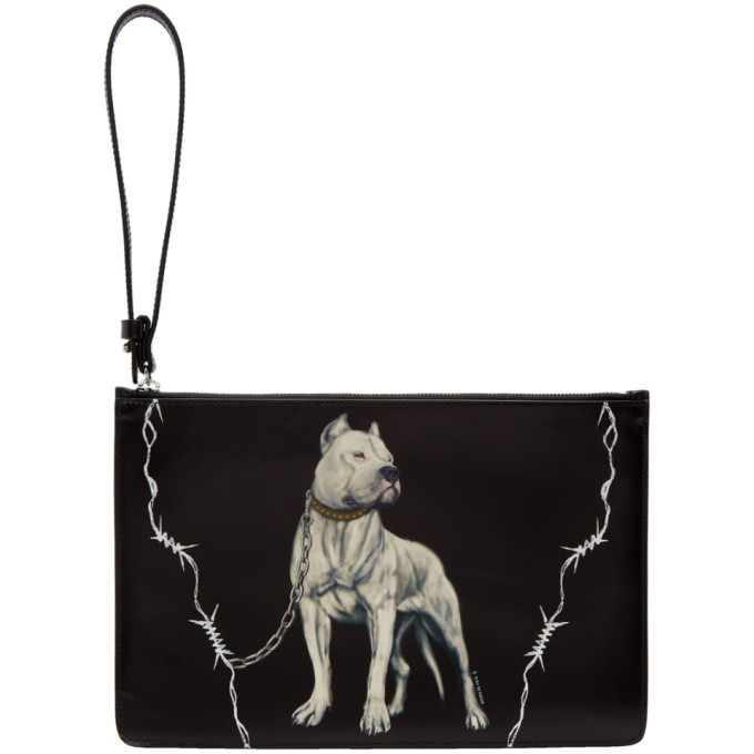 Marcelo Burlon County of Milan Black Dogo Pouch