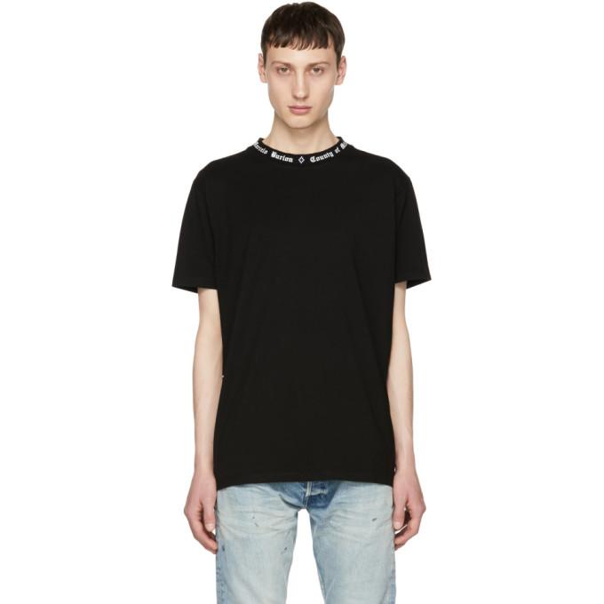 Marcelo Burlon County of Milan Black & White Logo T-Shirt