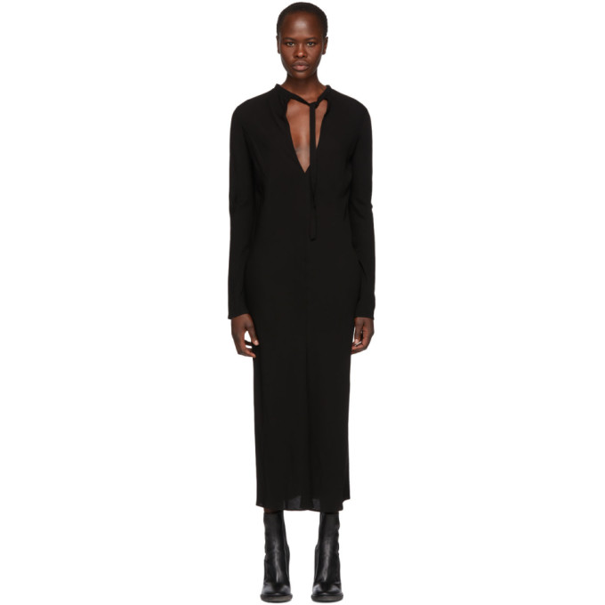 Haider Ackermann HAIDER ACKERMANN BLACK DURERO DRESS