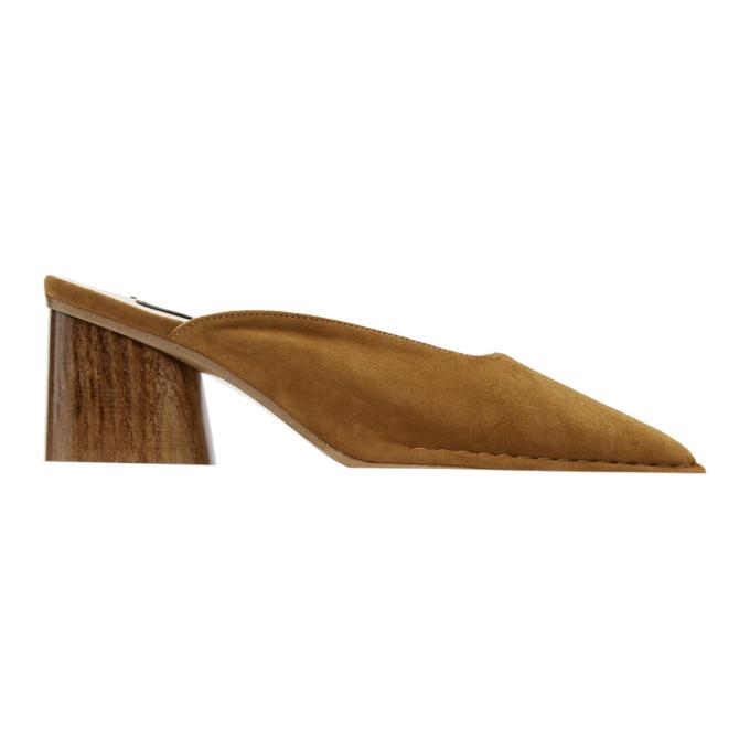 Jacquemus Brown 'Les Mules Sabah' Heels