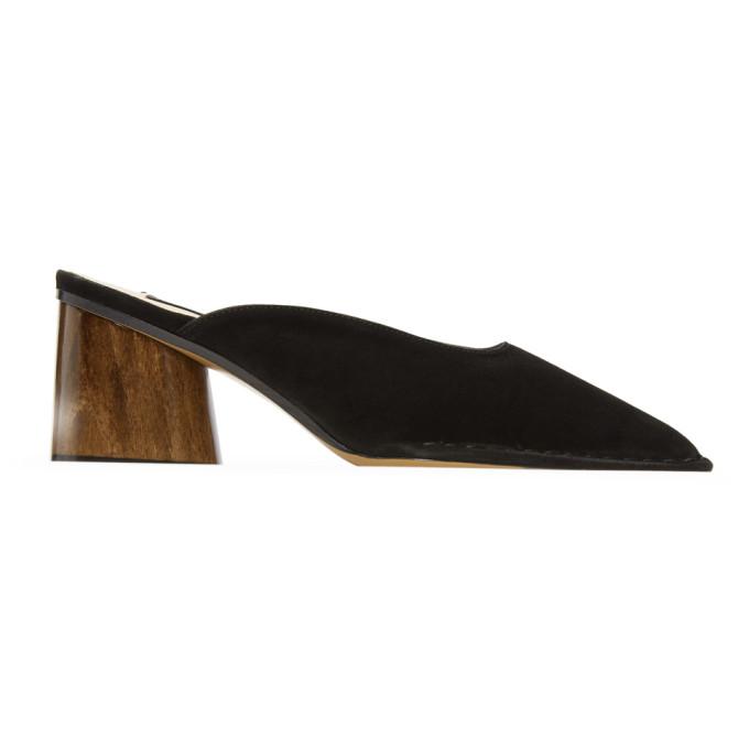 Jacquemus Black 'Les Mules Sabah' Heels