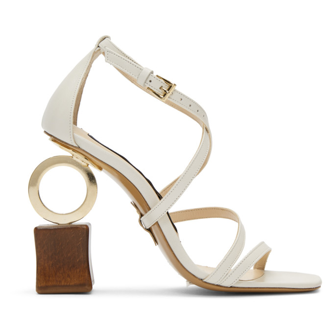 Jacquemus Off-White Samba Sandals