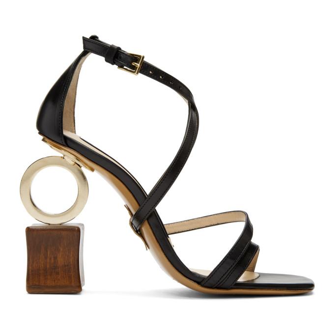 Jacquemus Black Samba Sandals