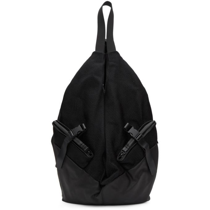 CÔTE AND CIEL Cote And Ciel Black Ganges Xm Saheki Backpack