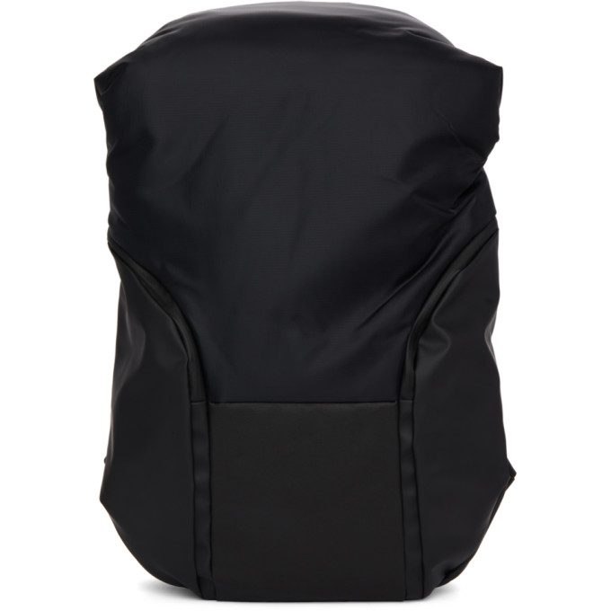 CÔTE AND CIEL Cote And Ciel Black Mimas Nile Backpack in Black/Grey